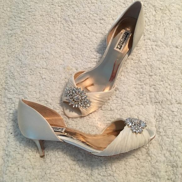 8084e6fa8c Badgley Mischka Shoes - Badgley Mischka Sabine Embellished Evening Shoe!